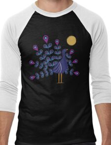 Gemmy Peacock Men's Baseball ¾ T-Shirt