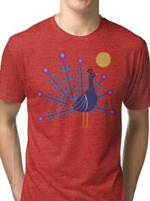 Gemmy Peacock Tri-blend T-Shirt