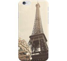 Eiffel Tower Carousel iPhone Case/Skin
