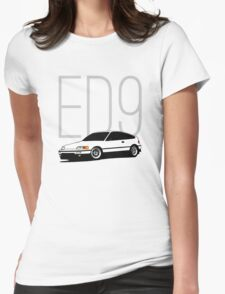 ED9 Womens Fitted T-Shirt