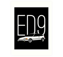 ED9 Art Print