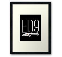 ED9 Framed Print
