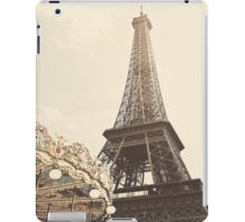 Eiffel Tower Carousel iPad Case/Skin
