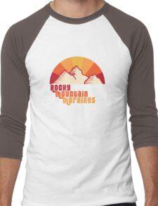 Rocky Mountain Mornings Men's Baseball ¾ T-Shirt
