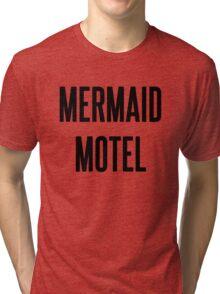 MERMAID MOTEL Tri-blend T-Shirt