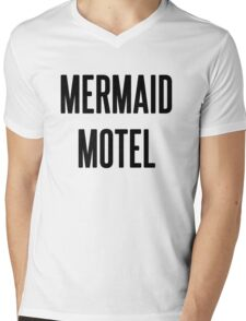 MERMAID MOTEL Mens V-Neck T-Shirt