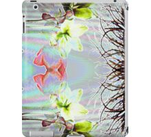 Abstract Flowers iPad Case/Skin