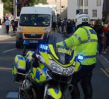 BMW police motorbike by justbmac