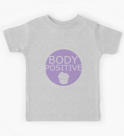 Body Positive (purple) Kids Tee