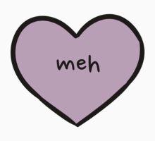 Sassy Heart–meh–Mauve by Sam Asselman