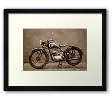 Puch 125 T Framed Print