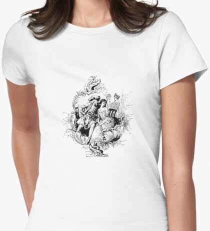 He Loves Her Ardently Womens Fitted T-Shirt