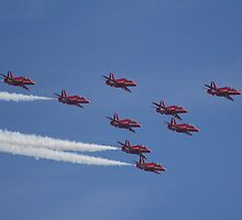 Red Arrows by Rob Howard