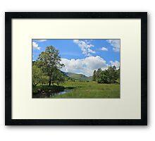 Little Langdale Valley Summers Day Framed Print