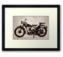 Puch 250 T Framed Print