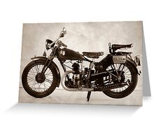 Puch 250 T Greeting Card