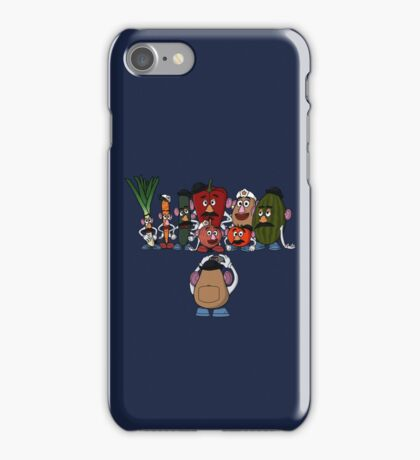 Potato family iPhone Case/Skin