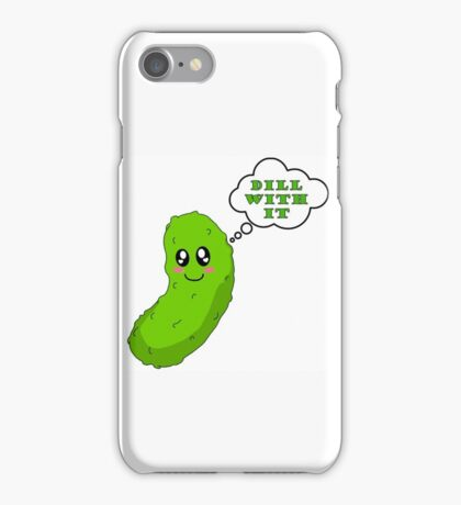 Sassy Pickle iPhone Case/Skin