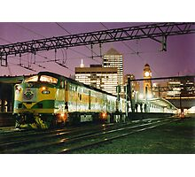 Indian Pacific at Central Station, Sydney Photographic Print