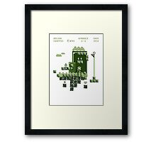 Lost in Mario Framed Print