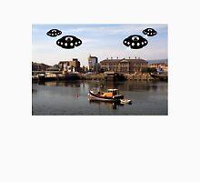Aliens invade Belfast Unisex T-Shirt
