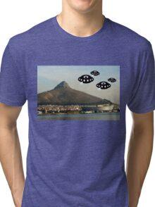 Aliens invade Cape Town Tri-blend T-Shirt