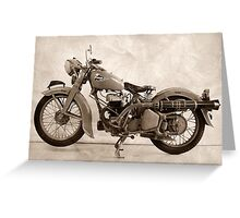 Puch GS 350 Greeting Card