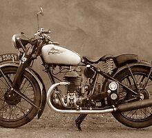 Puch vintage motorcycles by Gabi Siebenhühner