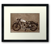 Puch S4 Framed Print