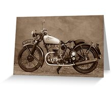 Puch S4 Greeting Card