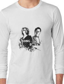 The Doctor & River Song  Long Sleeve T-Shirt