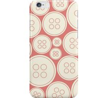 Buttons - red iPhone Case/Skin