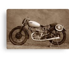 Puch S4 Race Canvas Print