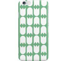 Tulip pattern green iPhone case iPhone Case/Skin