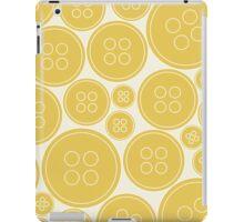 Buttons - orange iPad case iPad Case/Skin