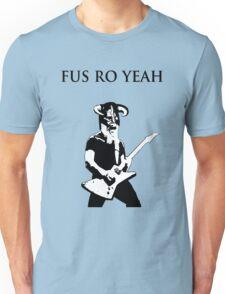 James hetfield fus ro  Unisex T-Shirt