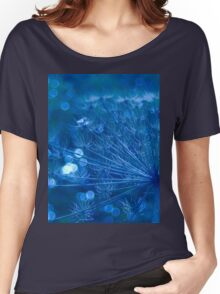 Sparkling Blue Imagination Women's Relaxed Fit T-Shirt