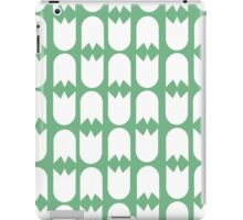 Tulip pattern green iPad case iPad Case/Skin