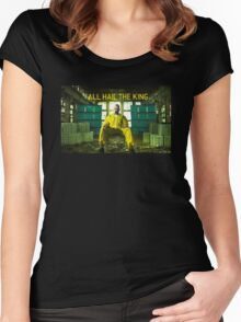 All Hail The King Women's Fitted Scoop T-Shirt