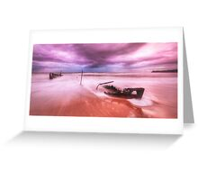 Dicky Beach Sunrise Greeting Card