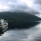 View of Loch Lomond from Tarbert by Julie Paterson
