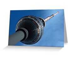 Berlin's Tower Greeting Card