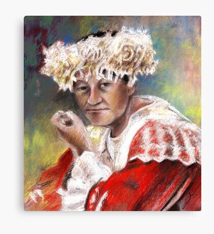 Polynesian Woman Canvas Print