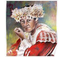 Polynesian Woman Poster