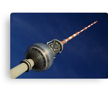 Berlin's Tower in colors Canvas Print