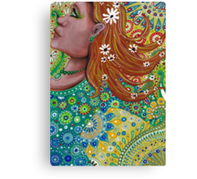 Ginger Goddess Canvas Print