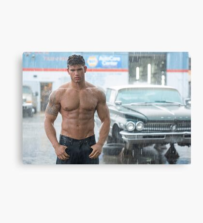 Wet Muscle Canvas Print