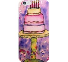 It's A Wonky Birthday Cake!  iPhone Case/Skin