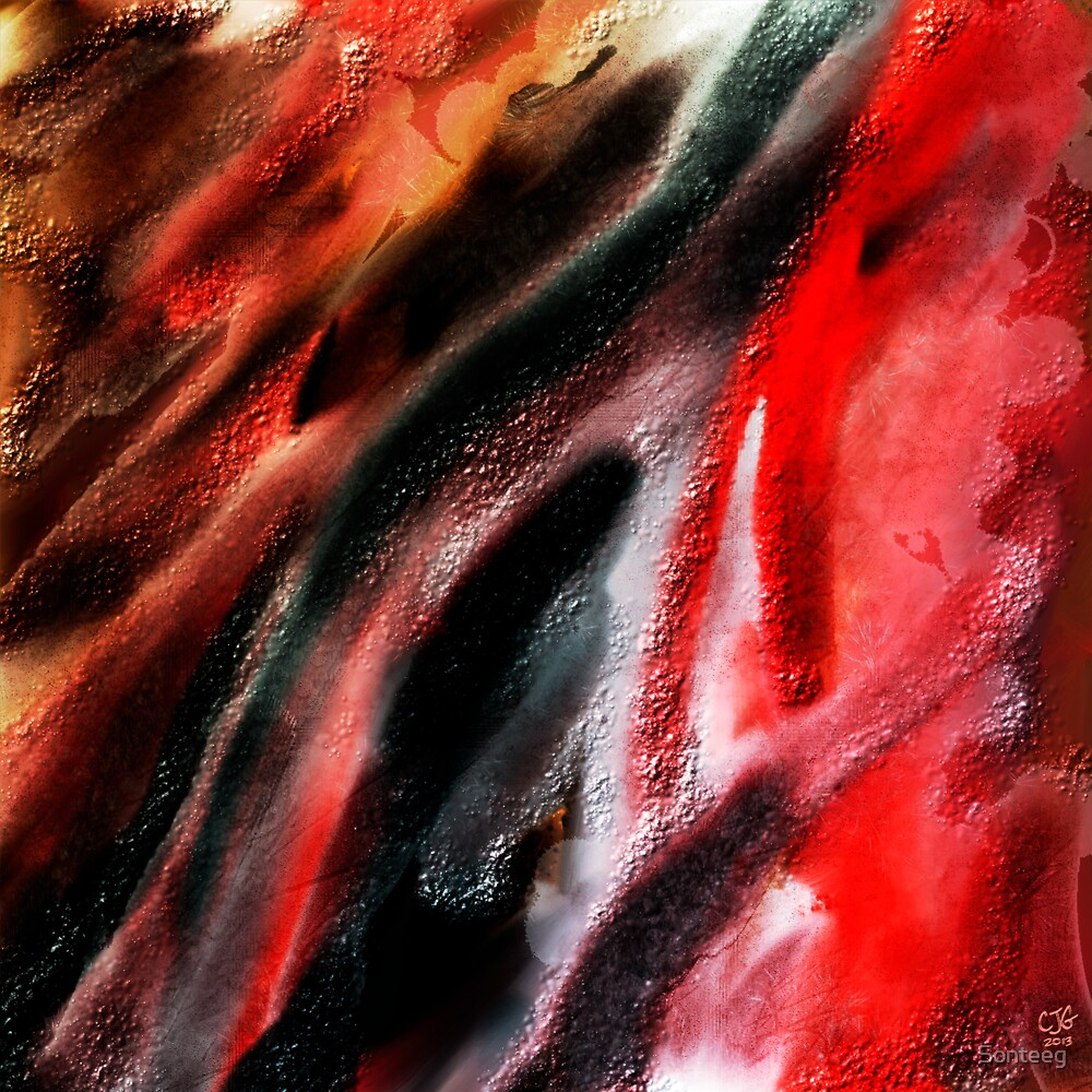 Abstract on a Weekend by Sonteeg