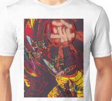 Samurai Surf Tsunami Shogun Showdown (version Black Dragon) Unisex T-Shirt